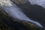 A glacier on the French side of Mont Blanc, Chamonix, France