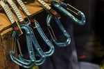 Carabiners for sale, Courmayeur, Italy