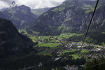 Overview of Kandersteg, Switzerland