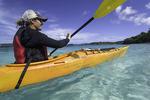 Kayaking off Honeymoon Beach with Liz of Arawak Expeditions, US Virgin Islands National Park, St. John, US Virgin Islands
