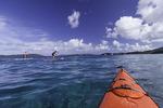 Standup Paddleboarding off Honeymoon Beach, US Virgin Islands National Park, St. John, US Virgin Islands