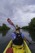 Kayaking with Michelle in Salt River Bay, St. Croix, US Virgin Islands