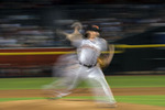 SF Giants pitcher Jeff Samardzjia pitches at Chase Field, Phoenix, AZ