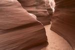 Exploring Secret Canyon, near Page, Arizona