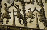 Artistic detail work, Cathedral Veija, Salamanca, Spain
