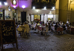 Fado and food with friends in the Alfama District, Lisbon, Portugal