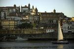 Sailing the calm waters of the Rio Douro, Porto, Portugal