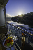 The Viking Hemming, cruising west on the Rio Douro, Portugal