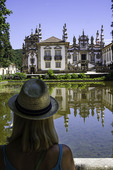 Baroque architecture style, Mateus Palace, Portugal