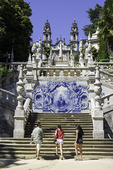 Shrine of Our Lady of Remedies, Lamego, near the Rio Douro, Portugal