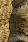 Erosional features in sandstone, Lick Wash, Grand Staircase Escalante National Monument, Utah