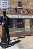 Standing-On-A-Corner Park on Route 66 in Winslow, Arizona