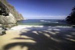 The isolated beach of Colomitos, south of Puerto Vallarta, Mexico