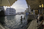 The Grand Canal and the Rialto Bridge, Venice, Italy