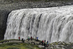 Dettifoss waterfall in summer, Iceland