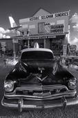 50's police cruiser, Route 66, Seligman, Arizona
