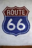 Route 66 icon, Seligman, Arizona