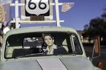Elvis lives on in Seligman, Route 66, Hackberry, Arizona