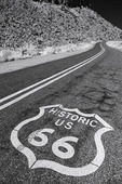 Iconic sign on Route 66, Cool Springs, Arizona