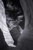 Sandstone passage in the Wave, Coyote Buttes North, Arizona