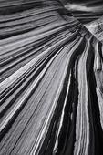 Sandstone ridges in the Wave, Coyote Buttes North, Arizona