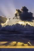 Sunset over the Atlantic, Nieuw Amsterdam, Holland America Line, Bahamas