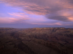 Winter sunrise from Lipan Point, Grand Canyon National Park, Arizona