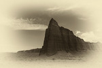 Temple of the Sun, Cathedral Valley, Capital Reef National Park, Utah