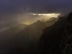 Stormy sunrise at Yavapai Point, Grand Canyon National Park, Arizona