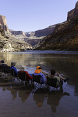 Chilling at Sandpile Camp, Colorado River, Grand Canyon National Park, Arizona