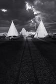Teepees at the Wigwam Motel, Route 66, Holbrook, Arizona