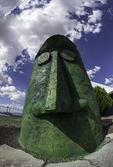 'Giganticus Headicus' resides along Route 66 at Antares, Arizona