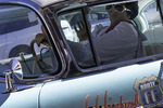 Elvis drives on Route 66, Williams, Arizona