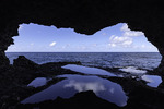 Animal Flower Cave at North Point, Barbados