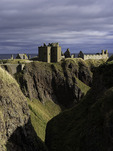 Dunnottar Castle, beside the North Sea, Stonehaven, Scotland