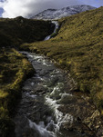 Stream running through the moors, Isle of Skye, Scotland