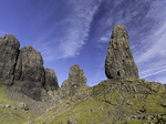 Hiking to Old Man Storr in Trotternish, Isle of Skye, Scotland