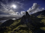 View south from Old Man Storr, Isle of Skye, Scotland