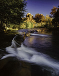 Oak Creek at Red Rock Crossing, Sedona, Arizona