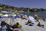 August at the beach, Santa Margherita, Italy