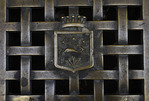 Design of street grate, Santa Margherita, Italy
