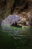 Kayaking in Emerald Cave, Black Canyon, Arizona