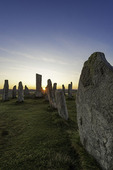 Sunrise over the Calanais Standing Stones, Isle of Lewis, Scotland