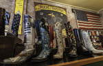 Custom boot samples, Rocketbuster Boot Company, El Paso, Texas
