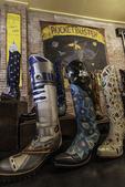 Custom boot samples, Rocketbuster Boot Company, El Paso, Texas