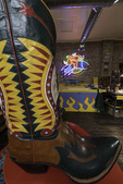 Largest real cowboy boots in the world, Rocketbuster Boot Company, El Paso, Texas