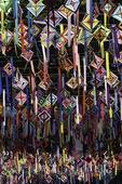Street decorations in Sayulita, Riviera Nayarit, Mexico