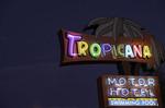Neon nights on Tucson's Miracle Mile, Arizona