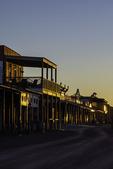 Sunrise over Allen Street, Tombstone, Arizona
