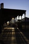 Sunrise over Allen Street, Tombstone, Arizona